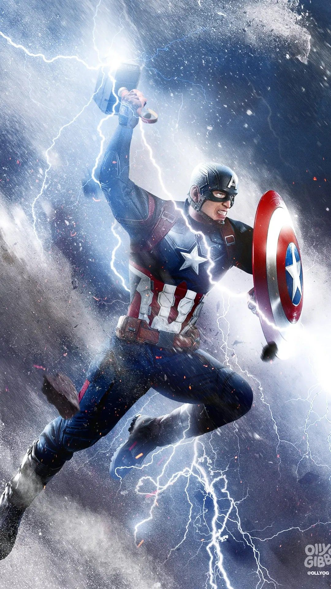 Captain america wallpaper by Andrewhickam80 Wiley07 on