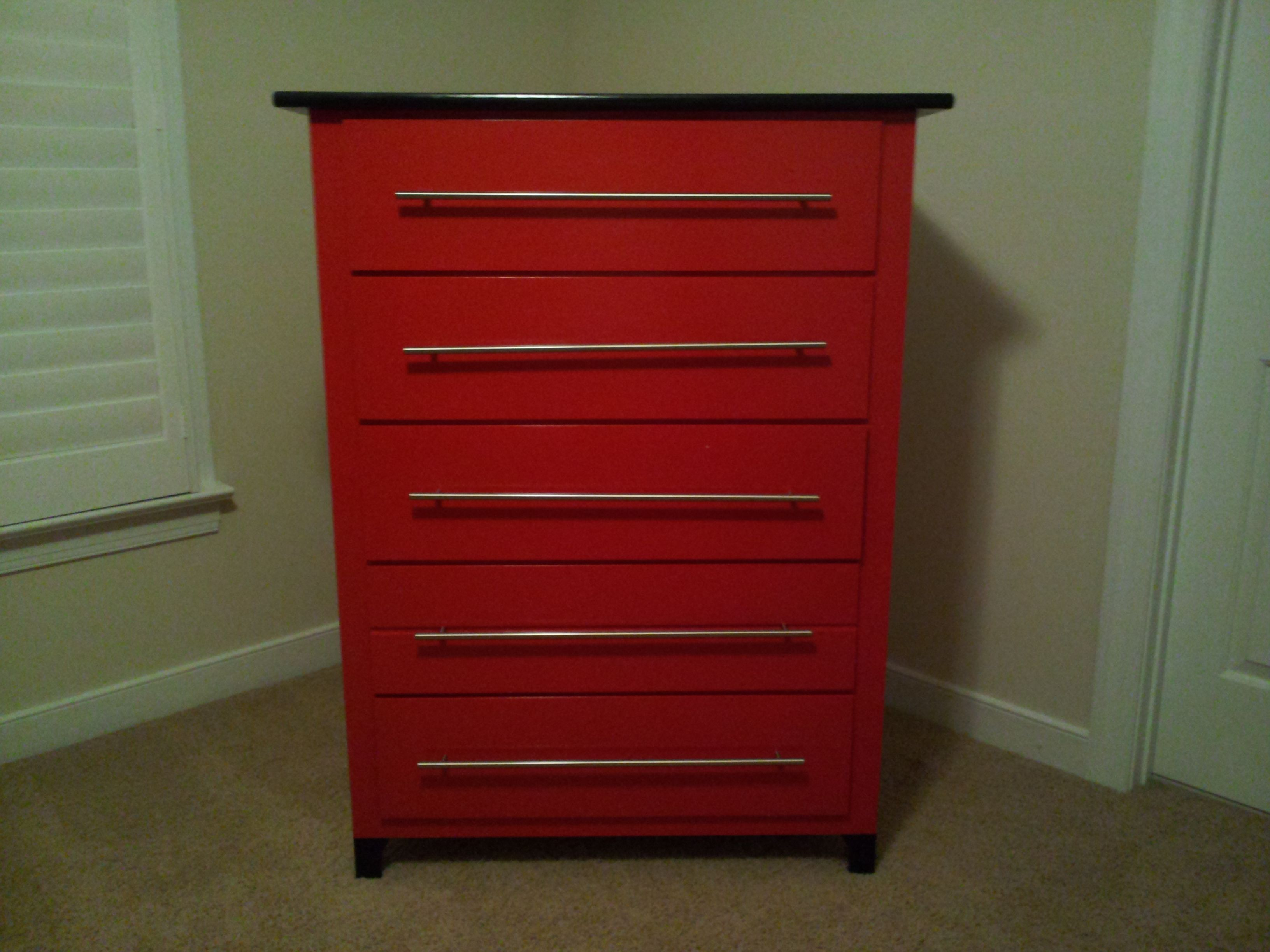 After: Harrisonu0027s New Tool Chest Dresser To Go With His Race Car Themed Room .