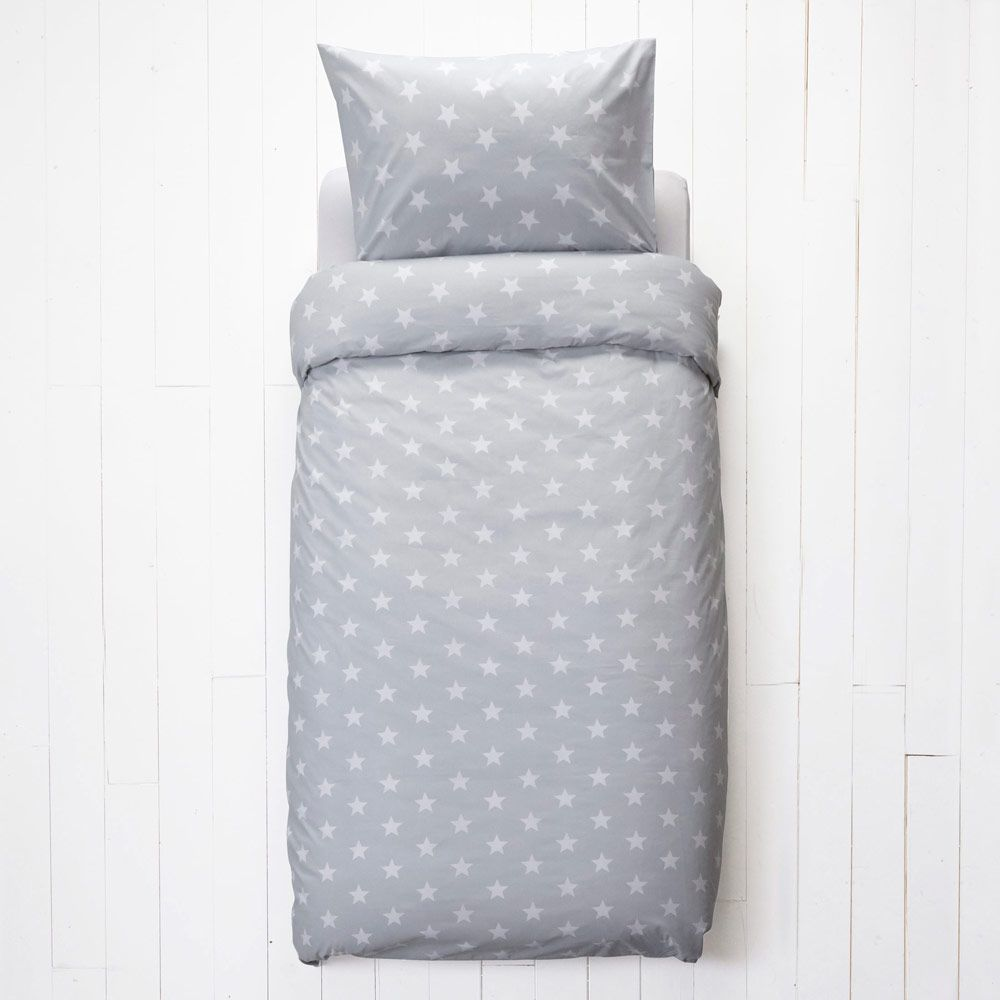 amazon kitchen duvet pillowcase single stars uk star cover co blue dp home