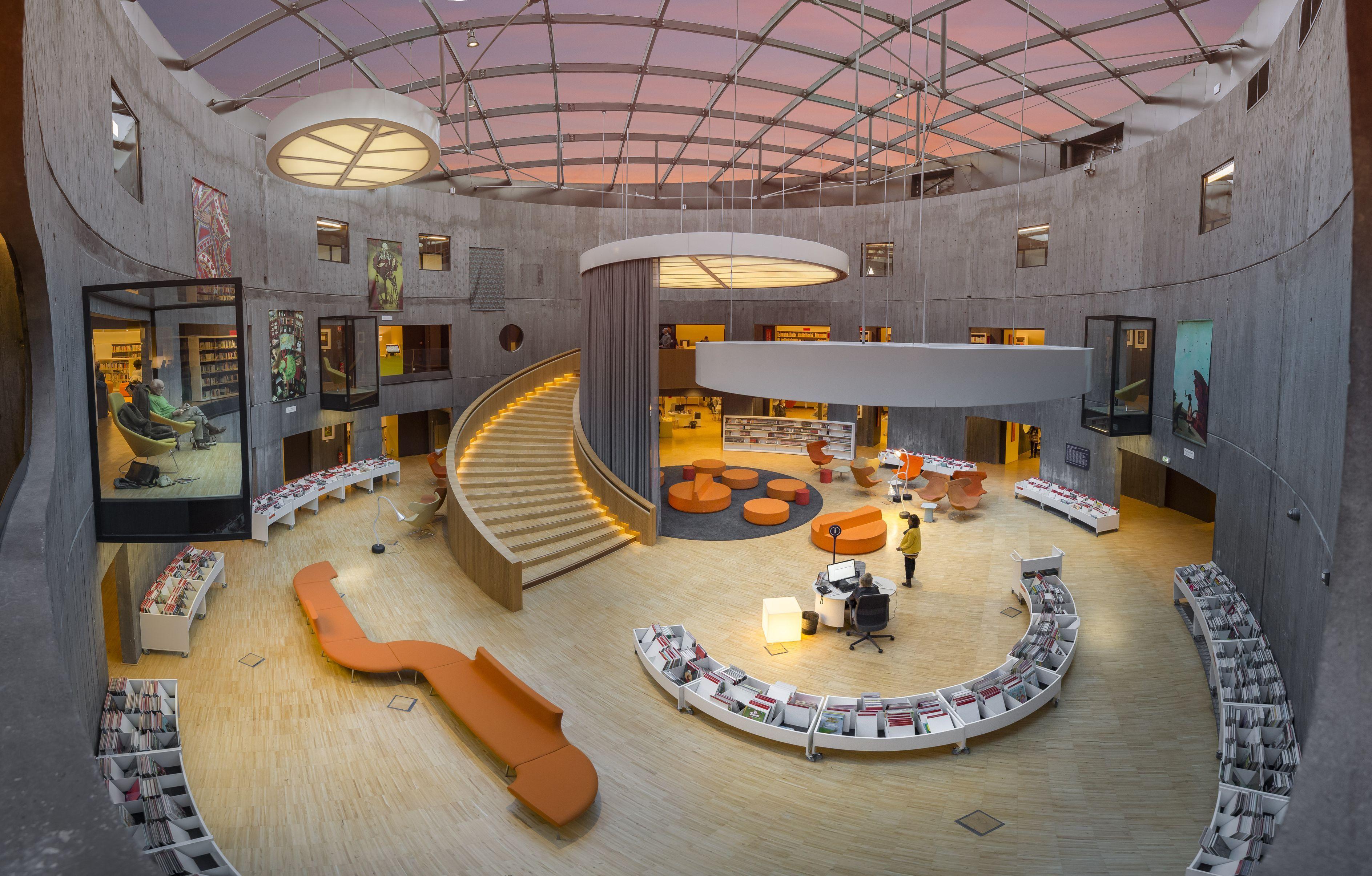 Le Petit Volcan de Niemeyer vue design de l\'intérieur... #LeHavre ...