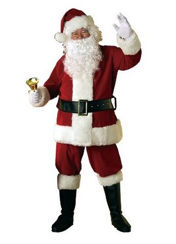 A Father Christmas Suit: The Perfect Christmas Outfit - A Father Christmas Suit: The Perfect Christmas Outfit Fancy Dress