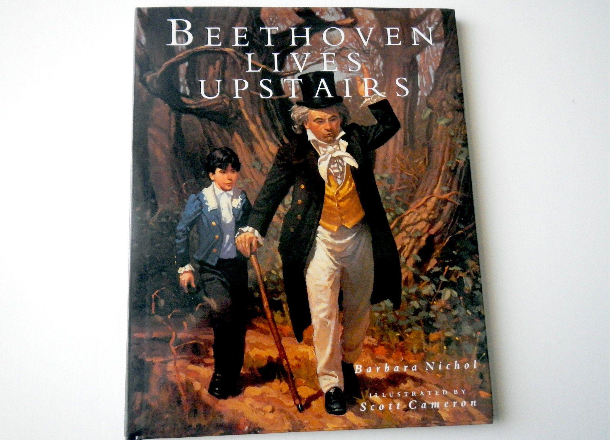 Beethoven Lives Upstairs Barbara Nichol Vintage