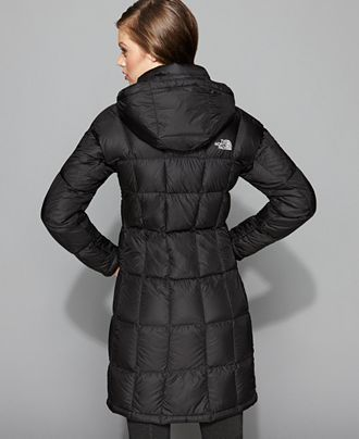 Manteau long femme north face