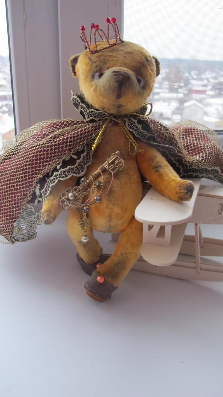 """Новая Мишка тедди """" Я Играю в Королеву"""" - Ярмарка Мастеров - ручная работа, handmade"""