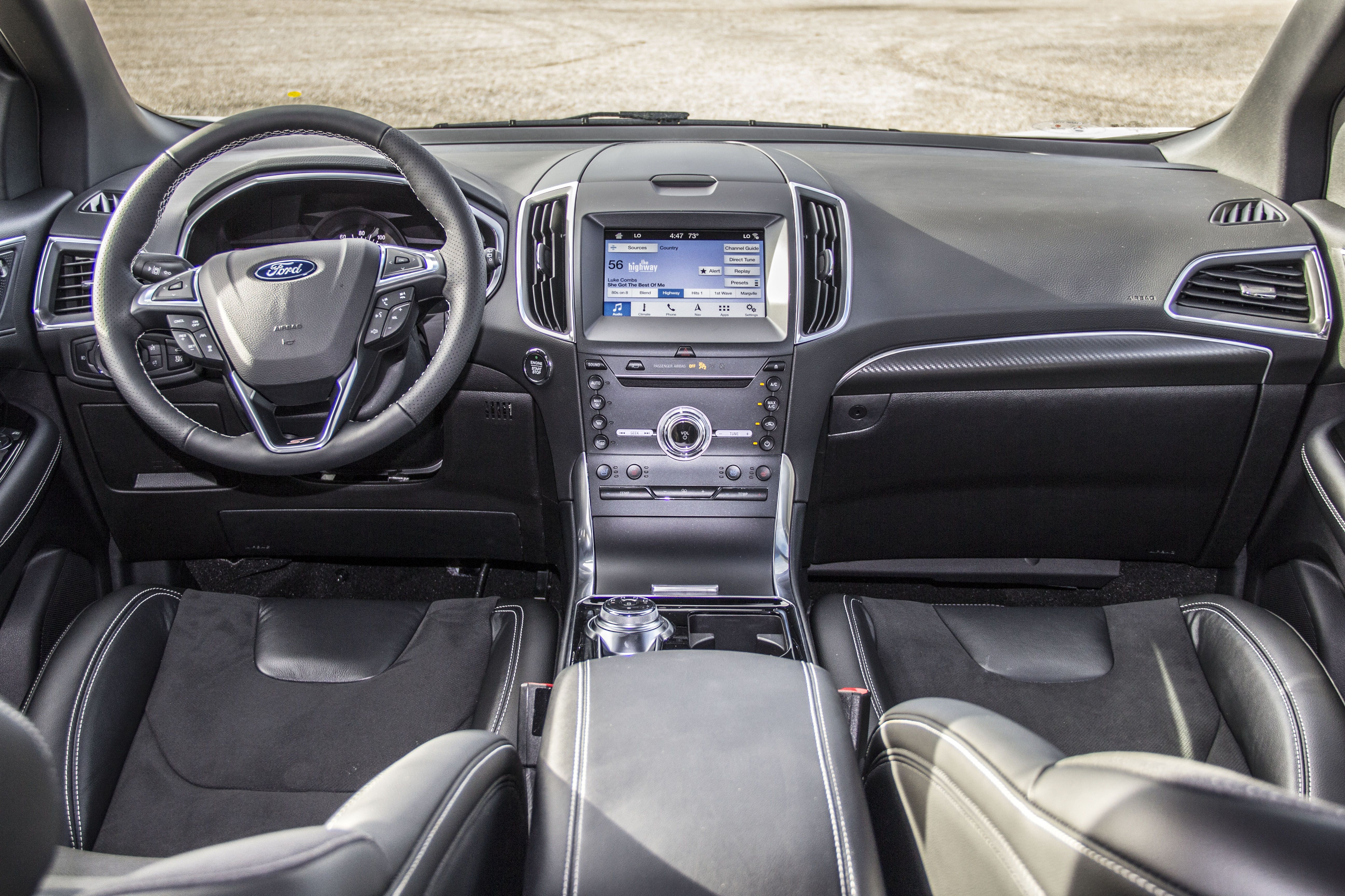 All New Interior Design For The 2019 Ford Edge St No Compromises