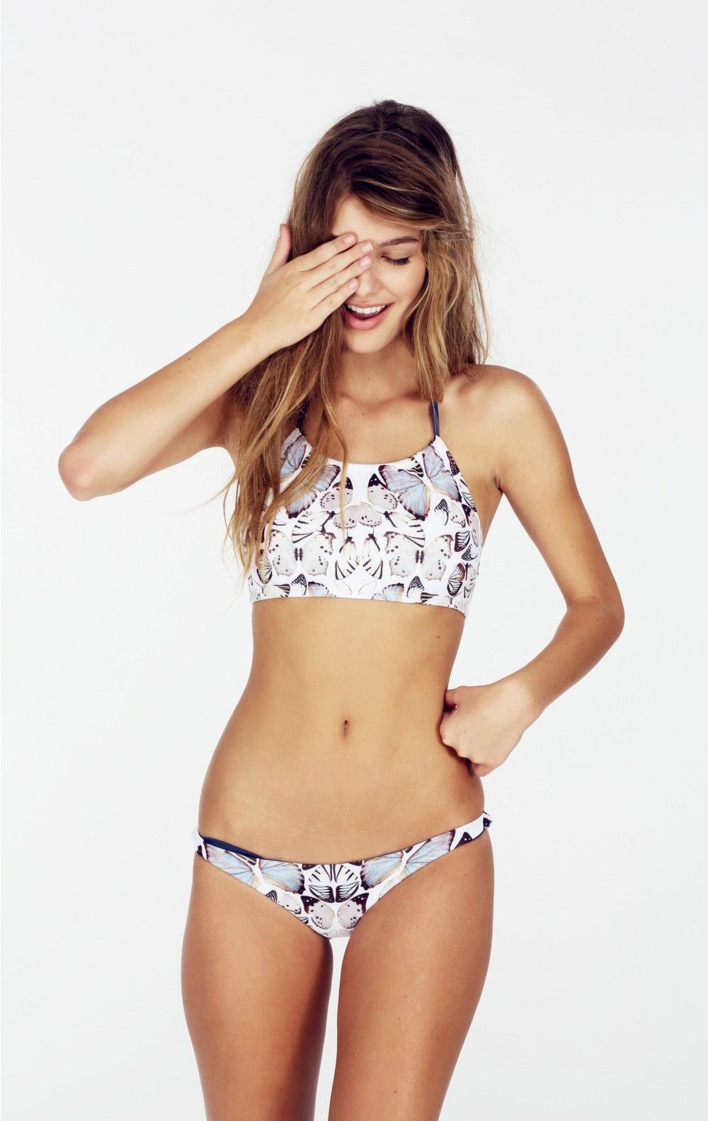 Bikinis with buttefly bottom not