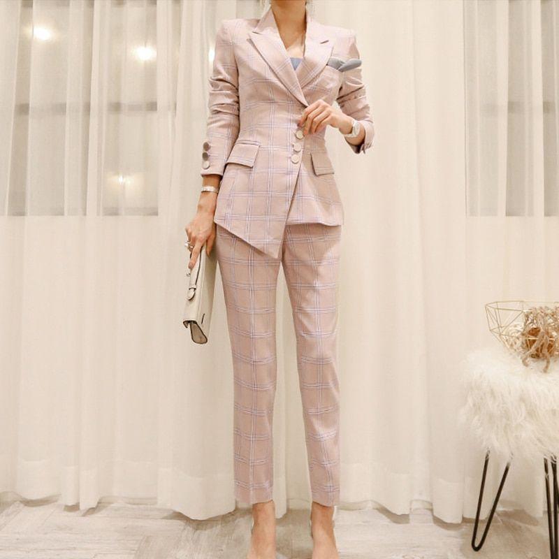 Slim Pant Suit