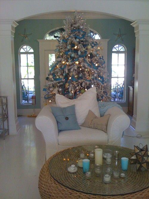 beach house Christmas
