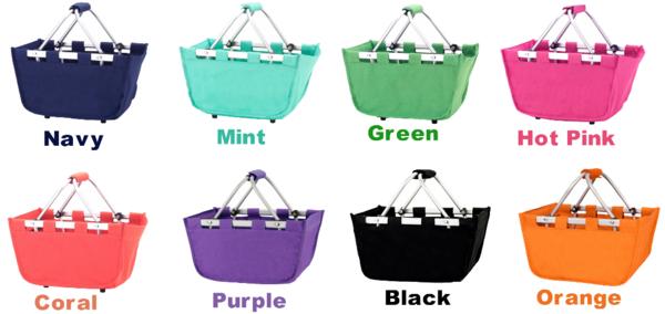 Personalized Kid Mini Market Tote Bag. Perfect summer accessory! #markettote #minimarket #personalized #monogram #totebag