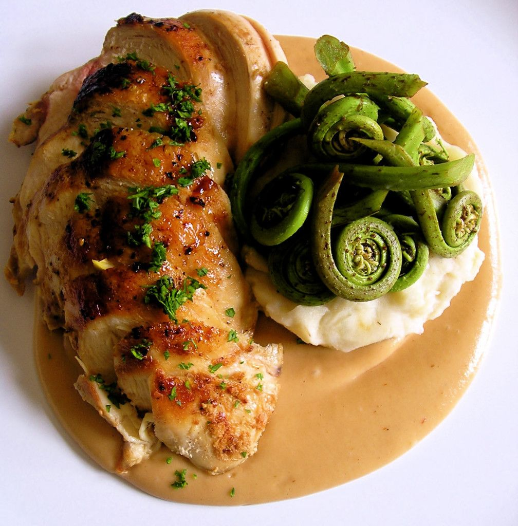 Chicken Breasts With Classic French Pan Sauce