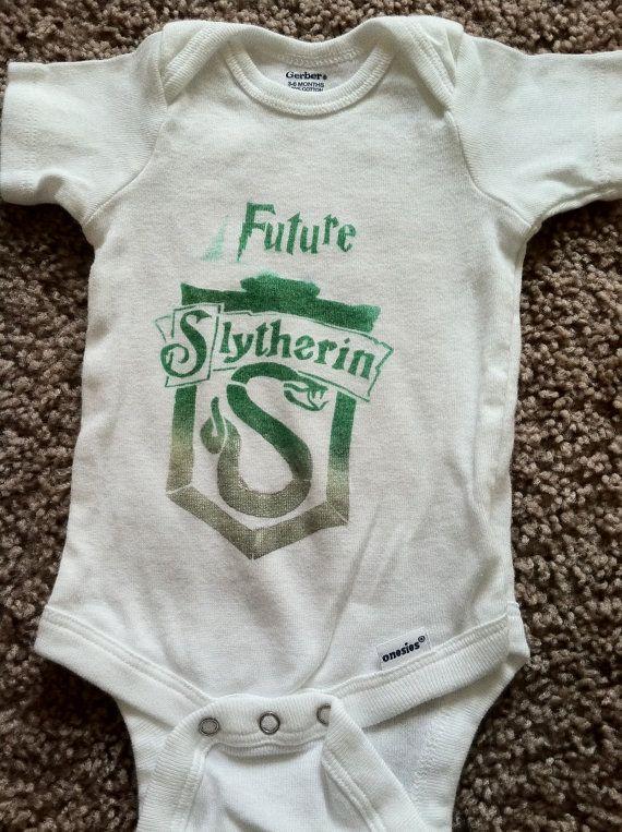 Future Slytherin Onesie by LunaLovegoodIsOk on Etsy, $8.00 ...