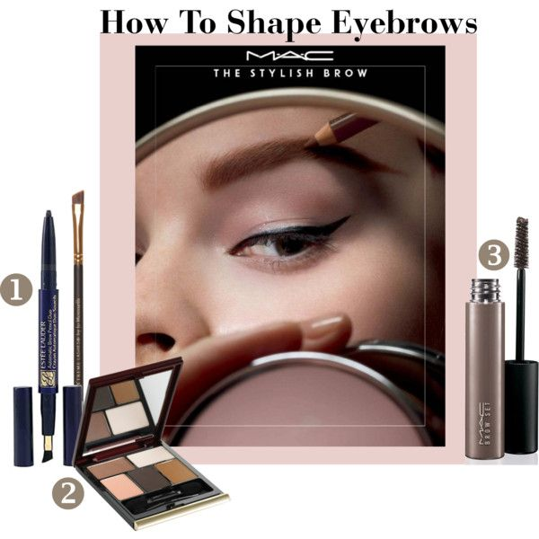 """How To Shape Eyebrows"" by christinalauren on Polyvore"