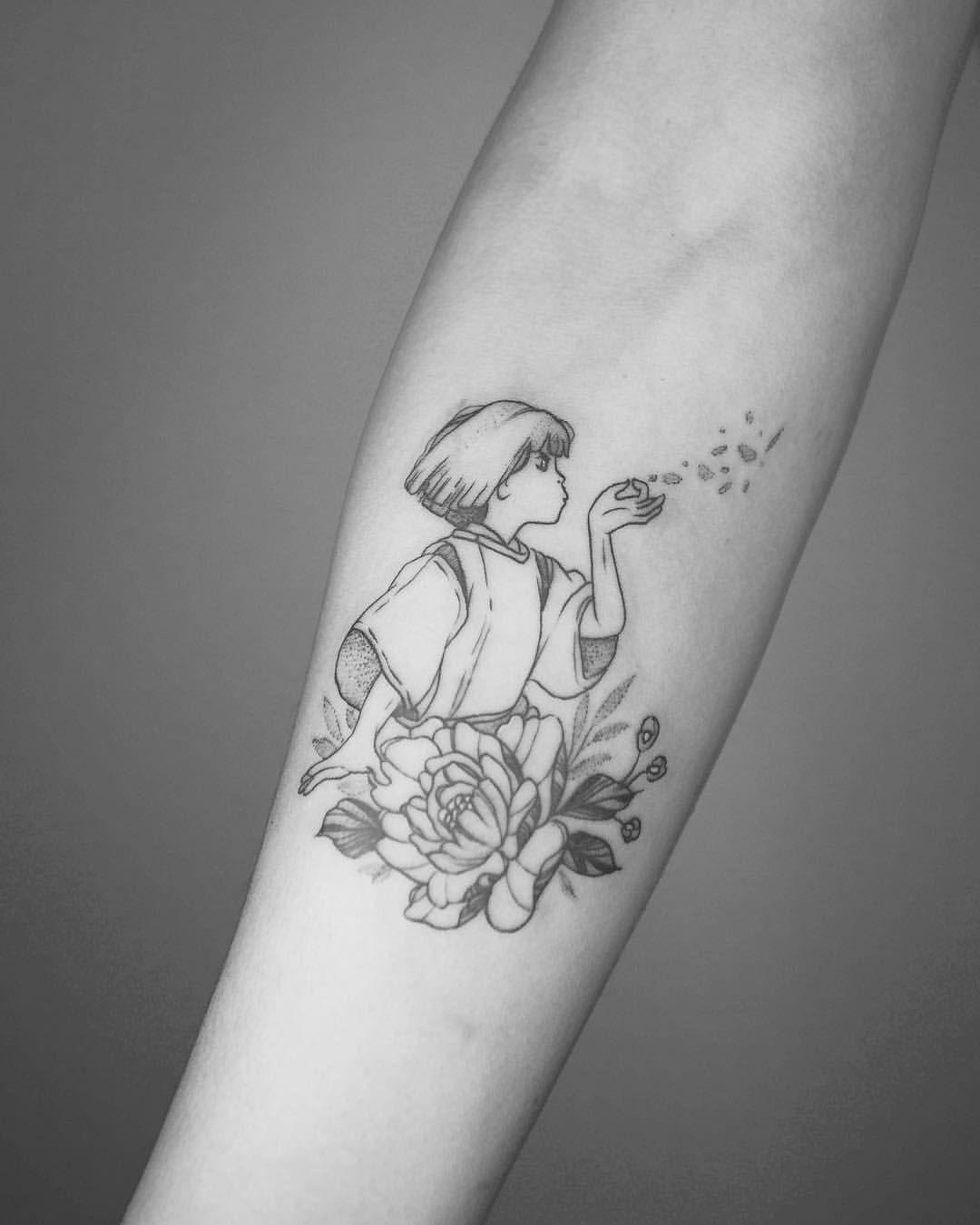Haku From Flash Day Always Down For Ghibli Pieces Haku Spiritedaway Spiritedawaytattoo Studioghibli S Anime Tattoos Tattoos Spirited Away Tattoo