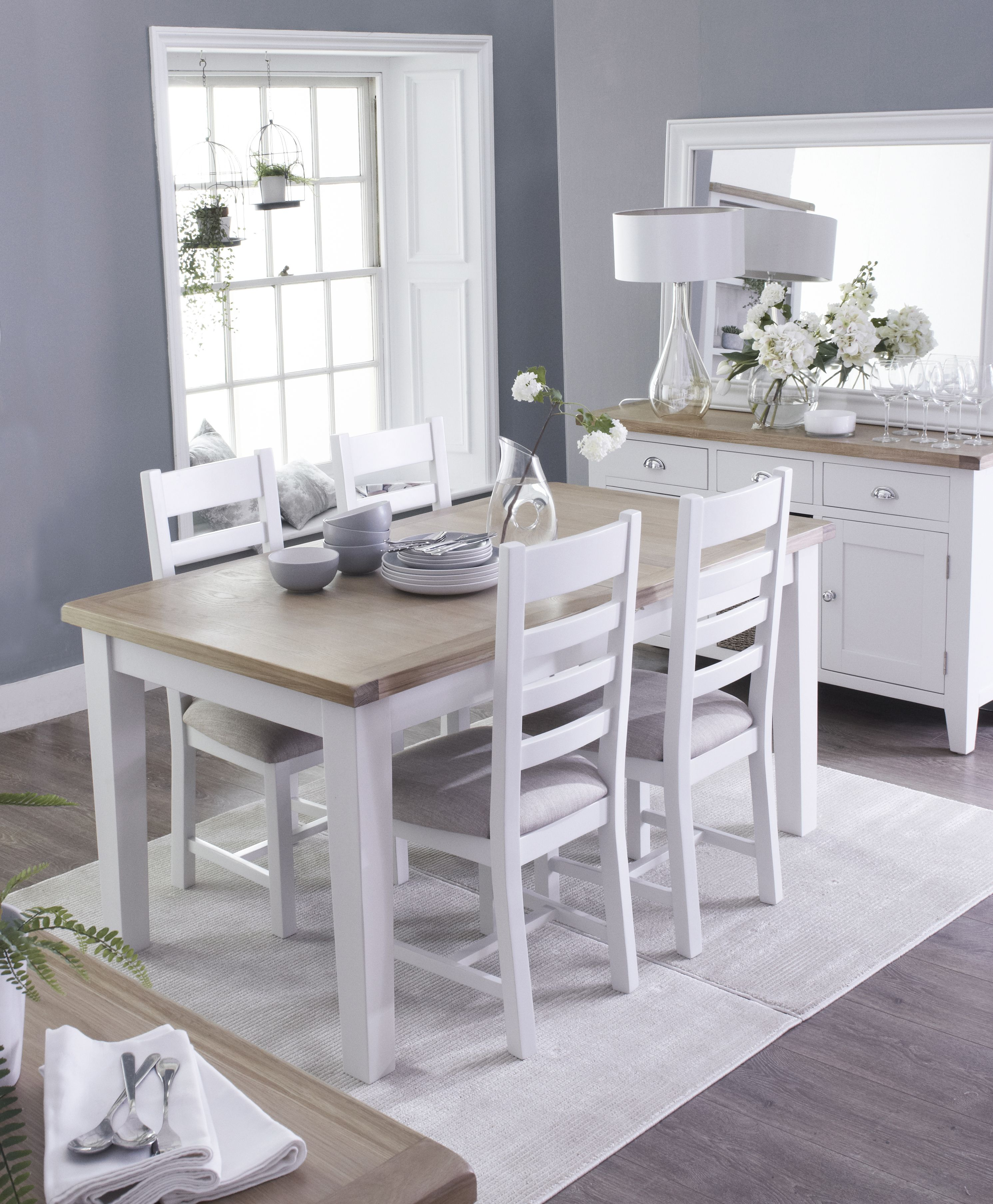 Suffolk Painted Oak Furniture available online at Chiltern Oak ...