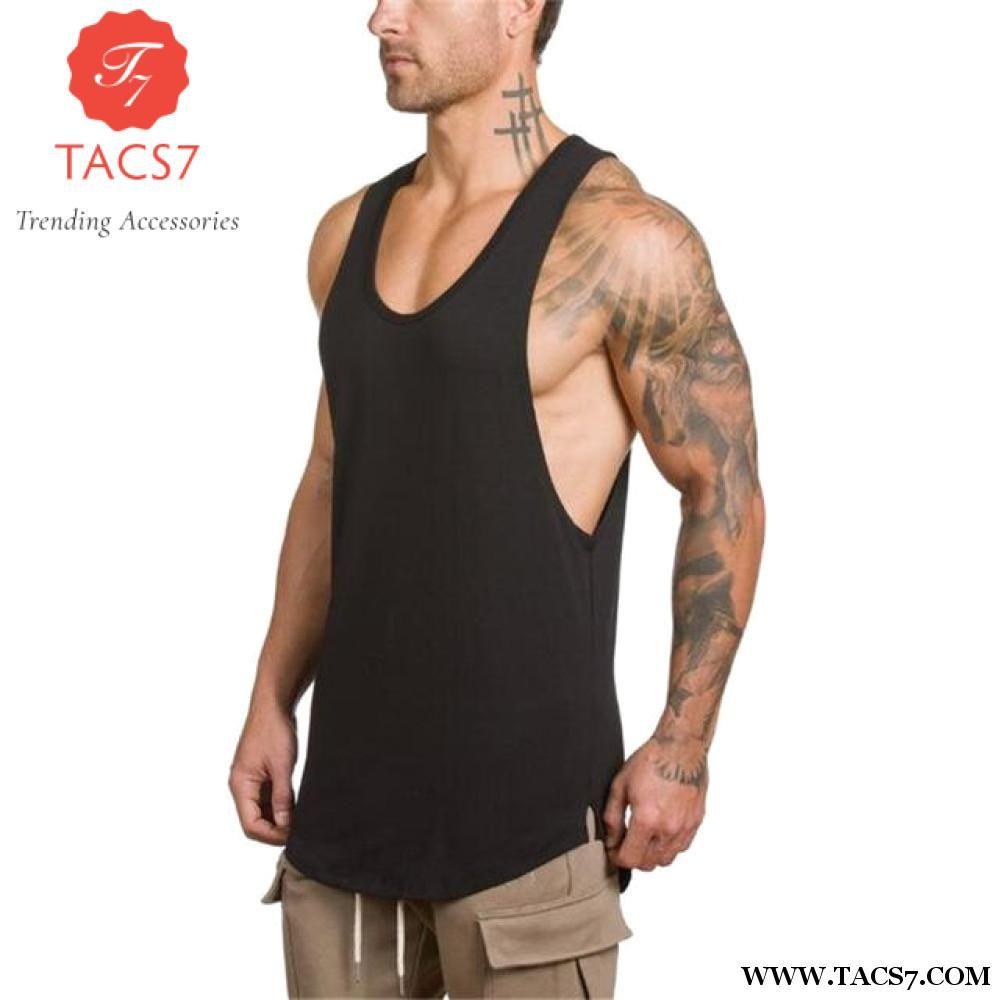 abc538e1d69066 Trending Male Tank Gym Clothing