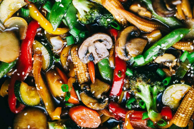 The Easiest Vegetable Stir Fry #vegetablestirfry