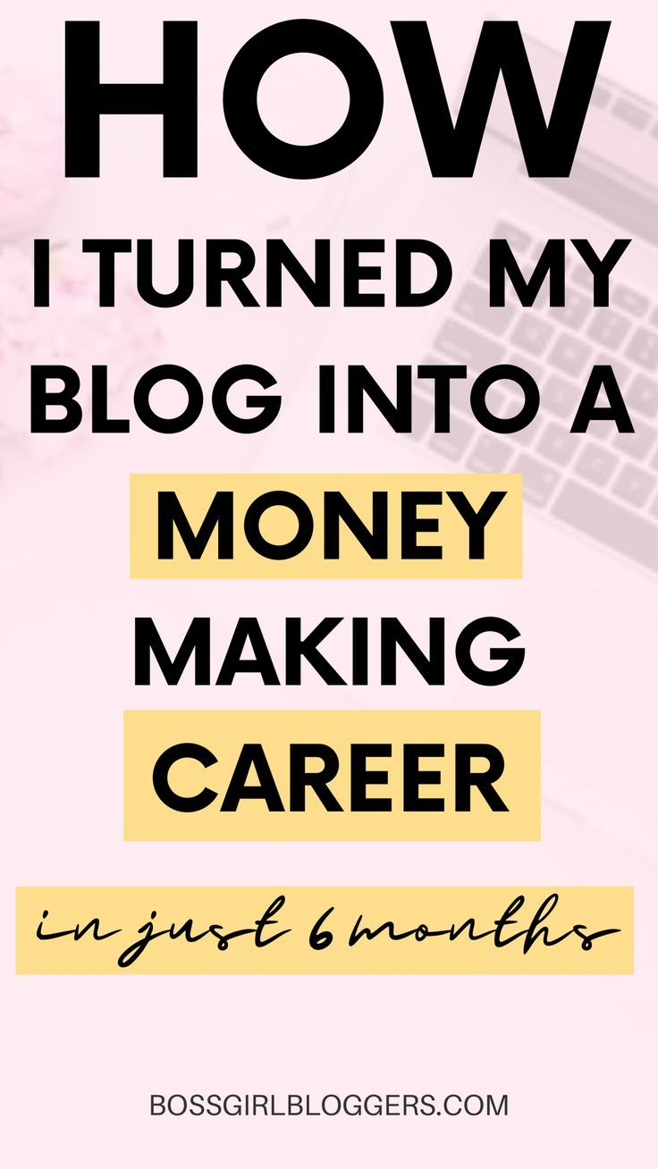 How to Become a Full Time Blogger  Turn your blog into a career is part of Full time blogger, Work from home tips, Blog, Blog tips, Blogging tips, Money blogging - How to become a full time blogger and work from home! I often get asked, how can I turn my blog into a full time job  Here are 11 ways to help you!