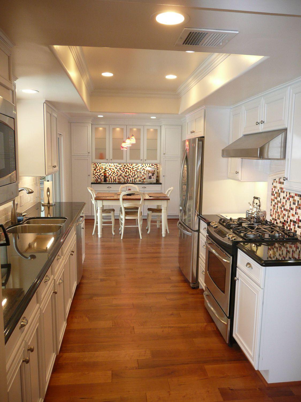 25 grey kitchen ideas modern accent grey kitchen design with images galley kitchen design on kitchen decor pitchers carafes id=68048