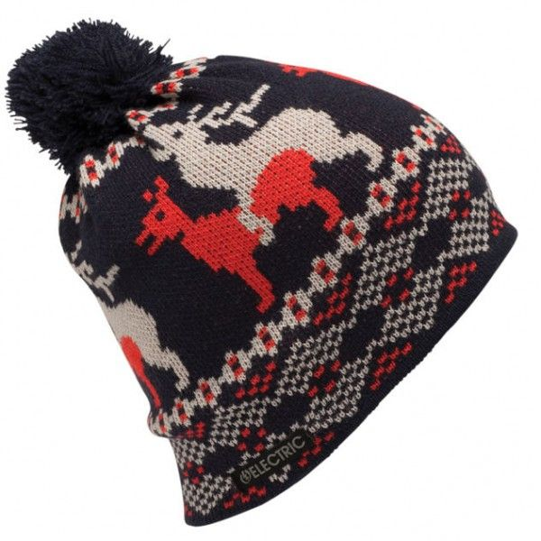 Electric Wildlife Beanie - Navy - Urban Surfer - £21.99