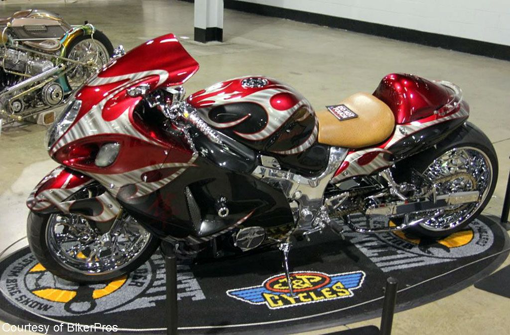 2016 Chicago Ultimate Builder Bike Show Mod Custom 1st Place