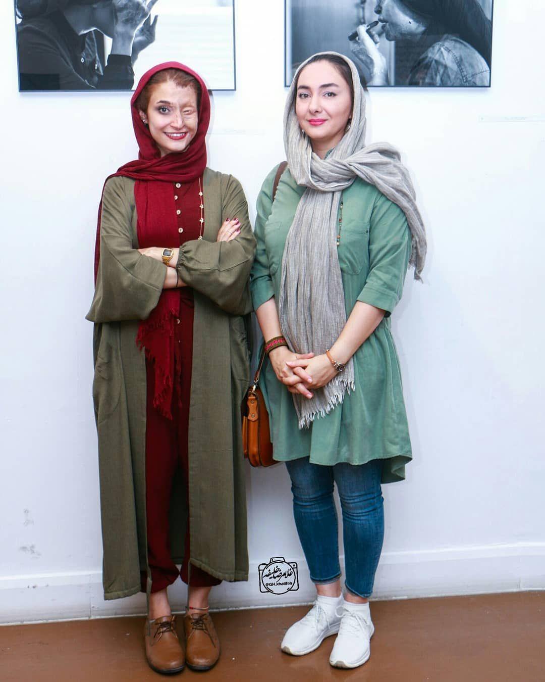 هانیه توسلی و مرضیه ابراهیمی Hanieh Tavassoli Iranian Women Fashion Persian Fashion Iranian Women