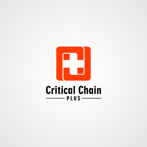 Critical Chain PLUS - Create a modern, sophisticated project management logo, with chains!