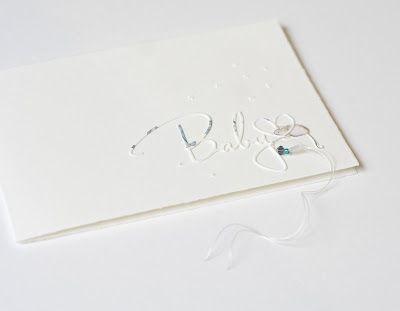 """Heute mal eine Babykarte für euch ;-) Relativ schlicht...   Die """"Baby""""Designpapier """"Mäuschen""""  Das waren heute noch weniger Worte als sonst ! ;-)  Habt ein tolles Wochenende. Viele GrüßeAnett"""