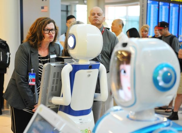 Image result for robots customer care