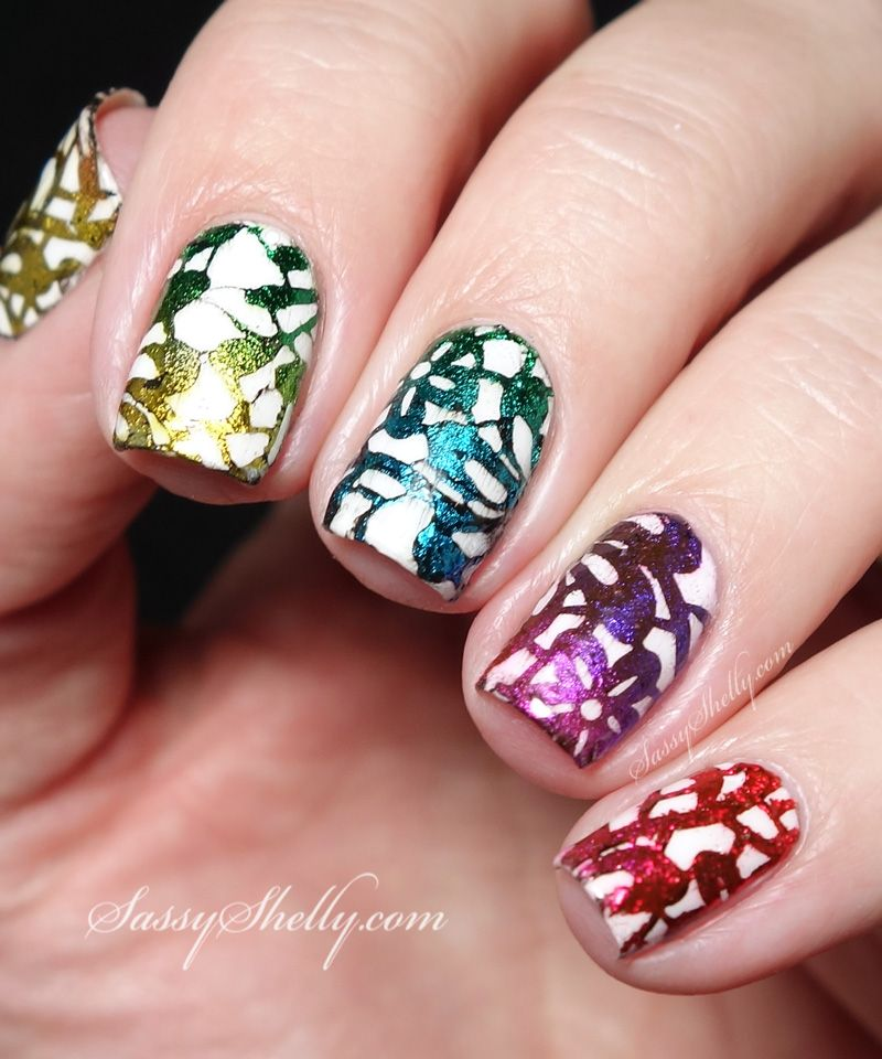Finally.. Foil Stamping Success | Nail foil, Bundle monster and Art ...