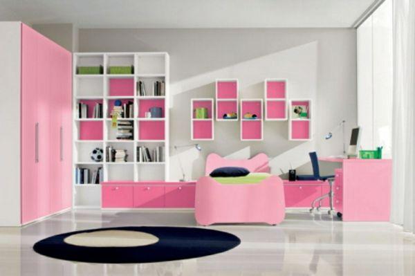 La d co chambre ado fille esth tique et amusante chambre pinterest chambre - Etagere pour chambre ado ...