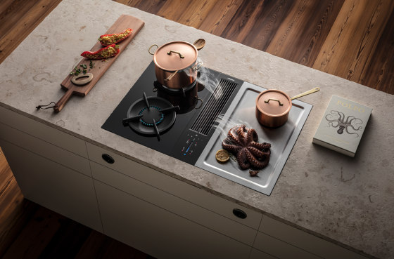 Ckg Gas Glass Ceramic Cooktop With 2 Cooking Zones By Bora Kitchen Appliances Design Cooktop Ceramic Cooktop