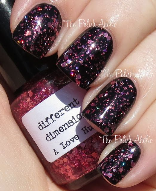 The PolishAholic: Different Dimension Love's A Punny Thing Collection Swatches
