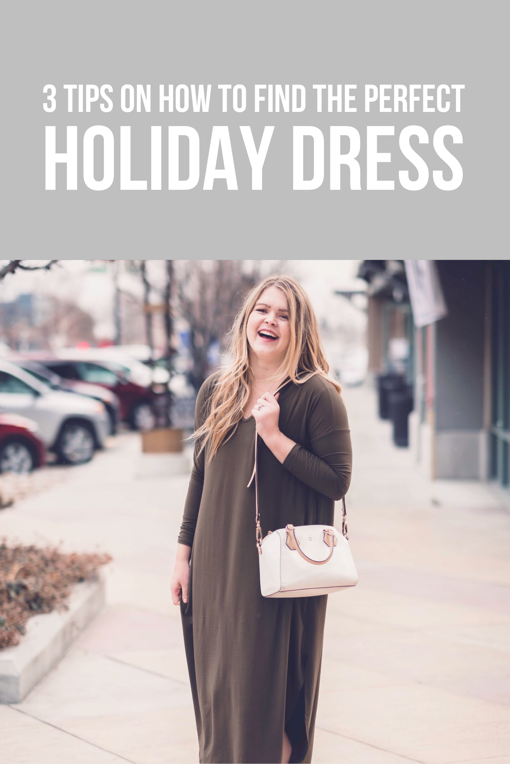 I wrote down some tips on how to find the perfect holiday dress. I love Christmas and the fun holiday spirit it has. I wanted to find a dress that is easy to be casual or more formal depending on what I paired with it. I found one that is green, but I would have been happy with my red one too! The best part: it's modest!