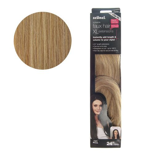 Claires scunci styleable faux hair xl extensions 10790ft beauty claires scunci styleable faux hair xl extensions 10790ft pmusecretfo Choice Image
