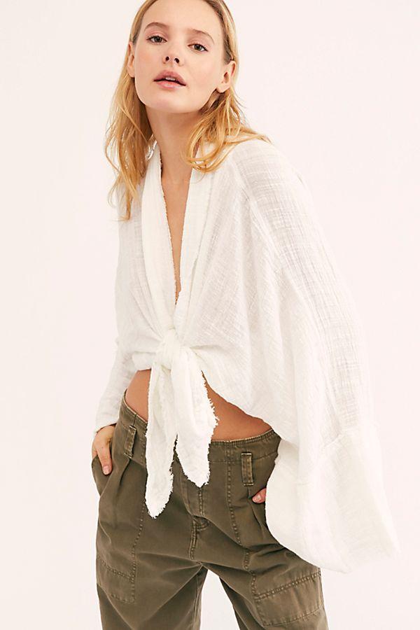 FP One Azalea Kimono | Kimono style tops, Retro fashion