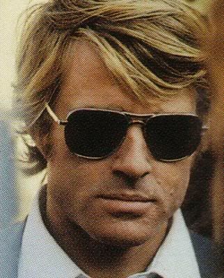 Robert Redford in fab shades