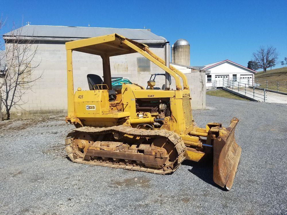 Details about Cat D4G XL Tractor Crawler Dozer Bulldozer Diesel 6