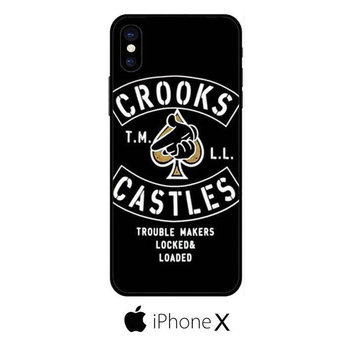 Crooks Castles Air Gun Spades IPHONE X