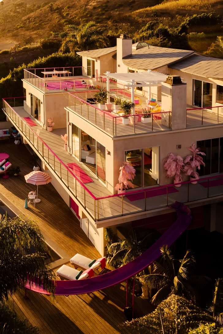 A Real-Life Barbie Dreamhouse Is On Airbnb, So You Can