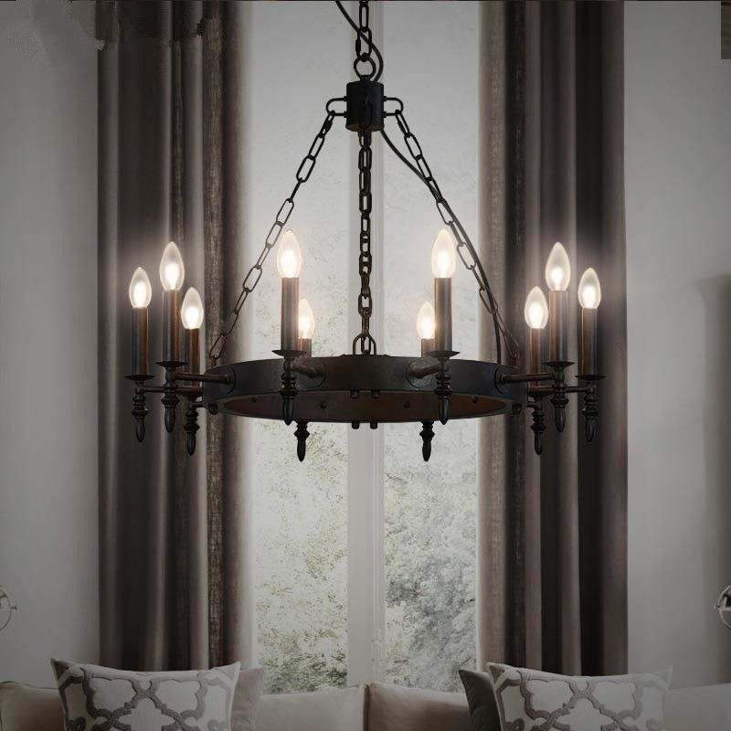 Find more pendant lights information about vintage wrought iron find more pendant lights information about vintage wrought iron pendant lights american country industrial pendant lamp aloadofball Image collections