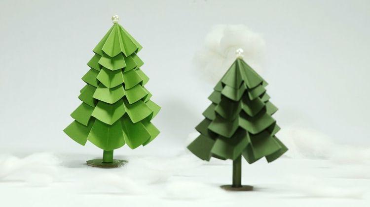Weihnachtsdeko diy papier