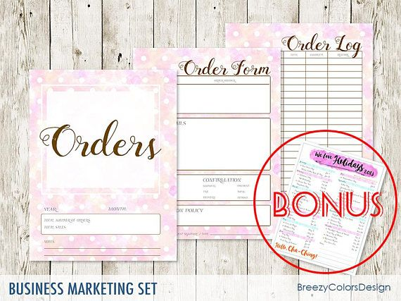 Small Business Worksheet Bundle Pastel Set Of  Marketing Kit