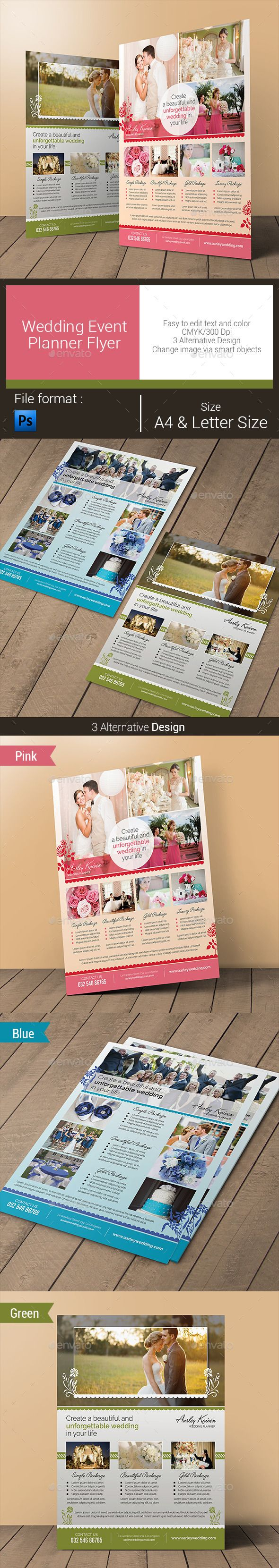 wedding event planner flyer corporate flyers flyer templates