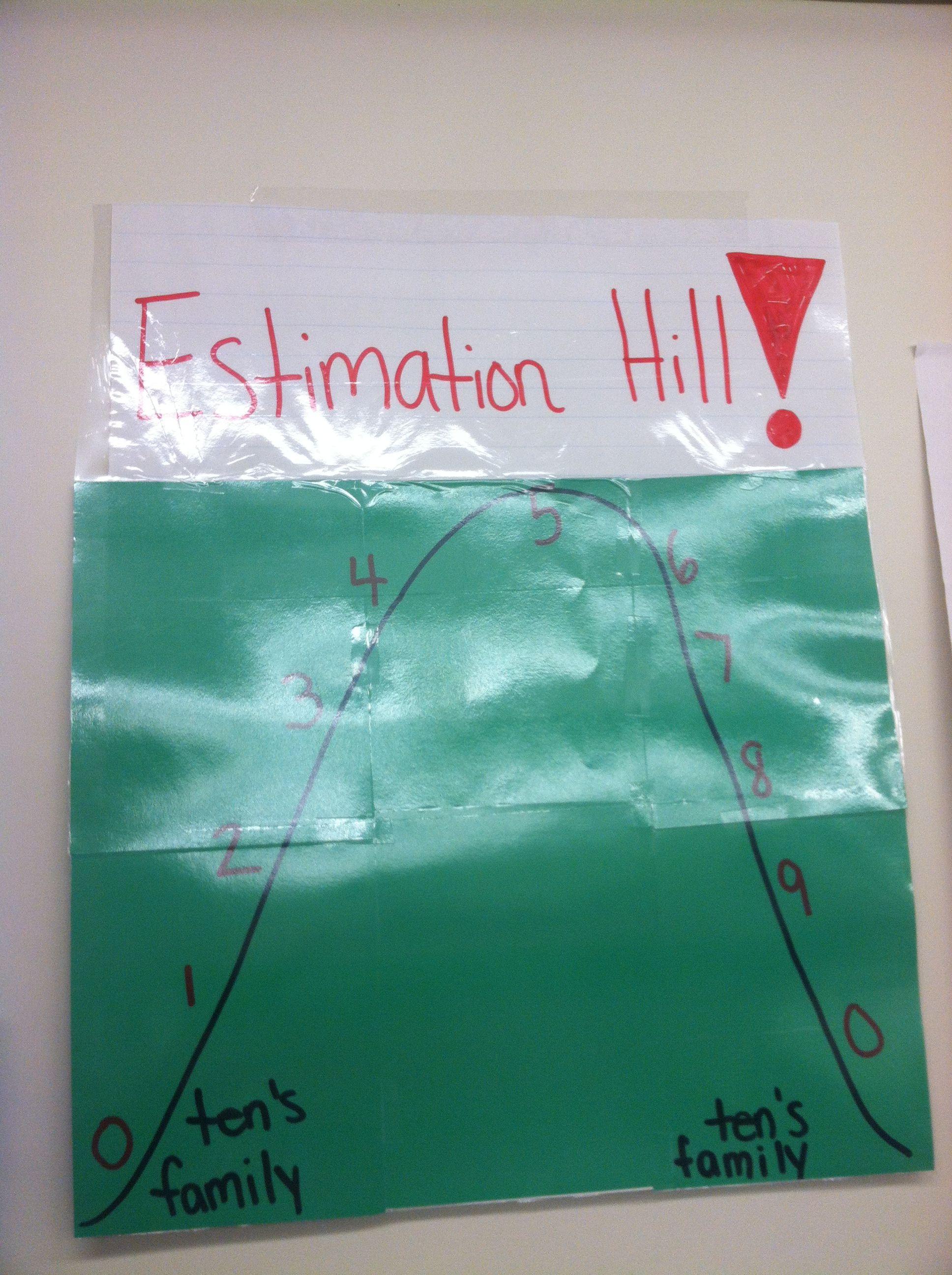 Estimation Hill Second Grade Class