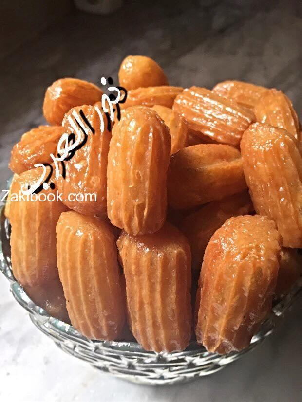 أنجح طريقة لعمل بلح الشام مضمونة 100 زاكي Food Lebanese Desserts Arabic Food