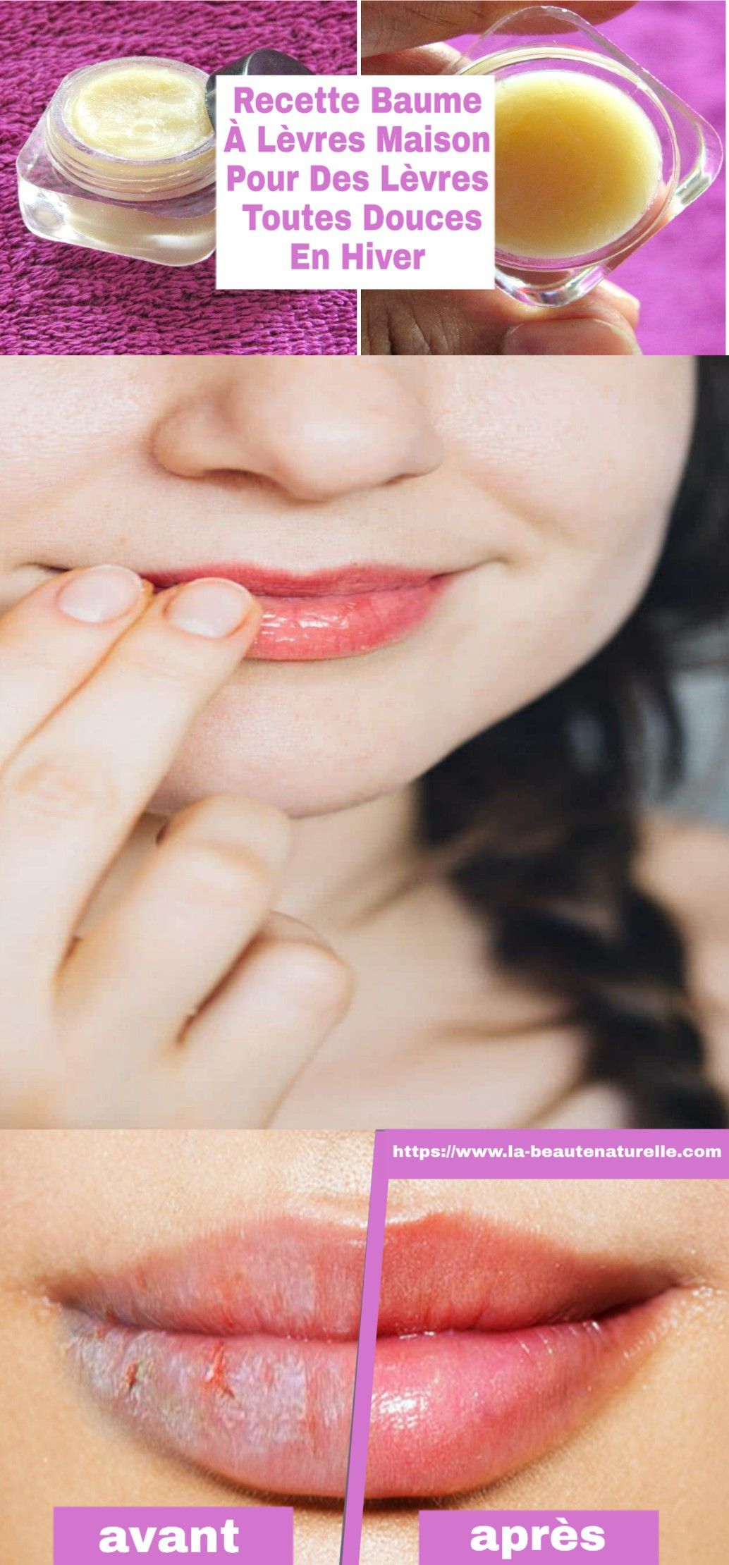 Recette baume à lèvres maison pour des lèvres toutes douces en hiver