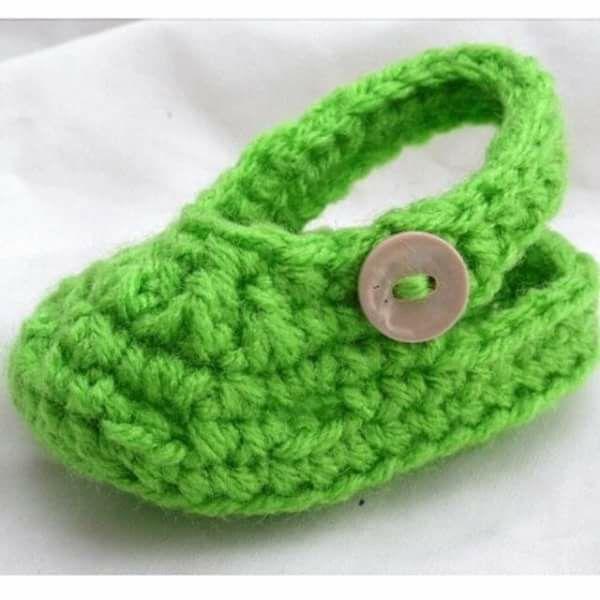 Pin de Paula Taylor en crochet | Pinterest | Bebe y Zapatos