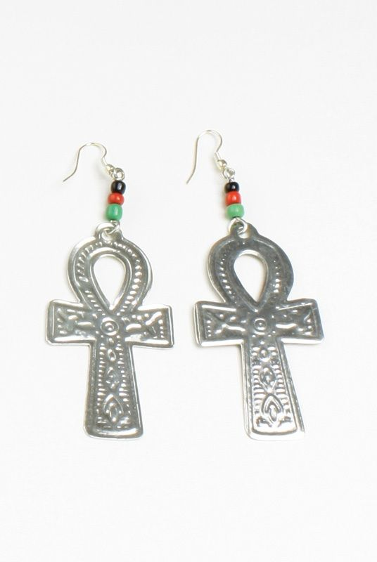 Ankh Earrings Silver 599 The Ankh Symbol Is Famous Throughout