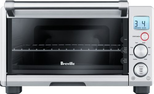 Breville The Compact Smart Oven Toaster Pizza Oven Brushed