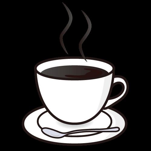 コーヒーイラスト コーヒーカップ イラスト コーヒー コーヒーソーサー